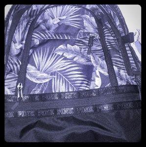 Victoria Secret Pink Black Backpack